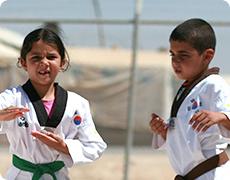 아동교육지원 사진